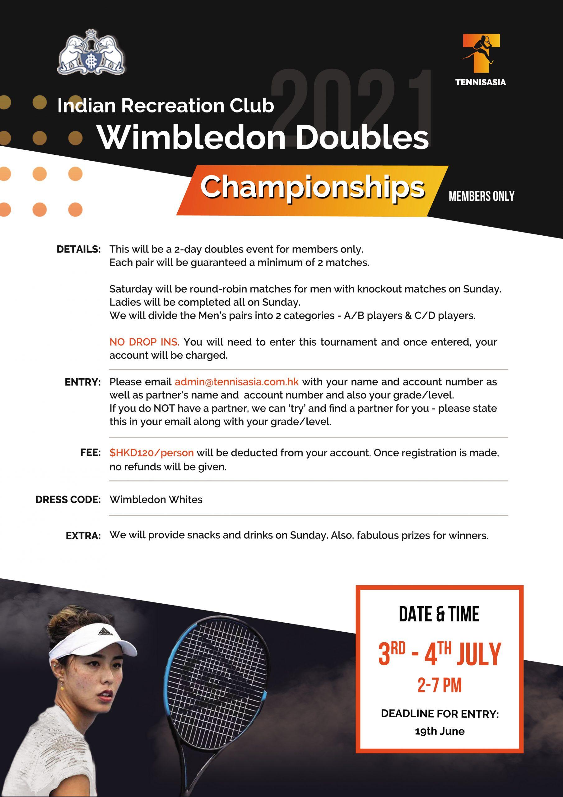 IRC Wimbledon 2021